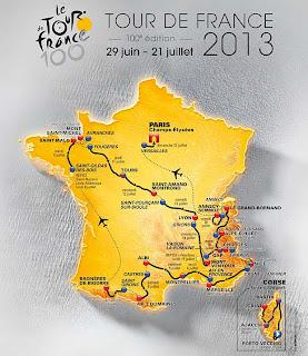 CICLISMO-Tour de Francia 2013