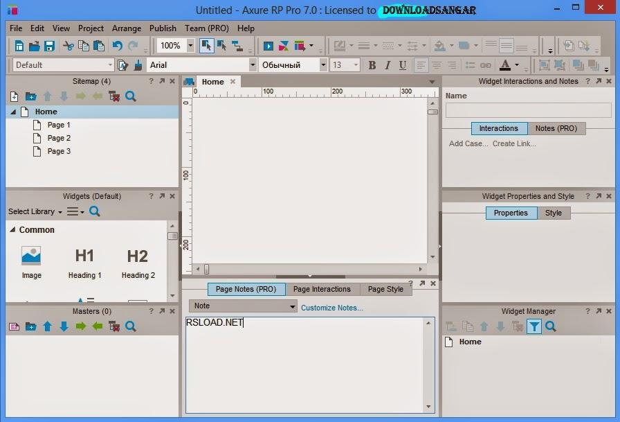 Axure RP Pro 7.0.0.3174 Full keygen
