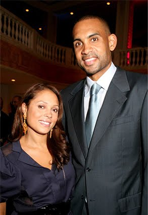 grant hill and tamia wedding. Grant Hill - On top of the