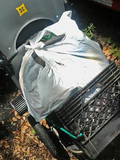 Burley Travoy as trash truck