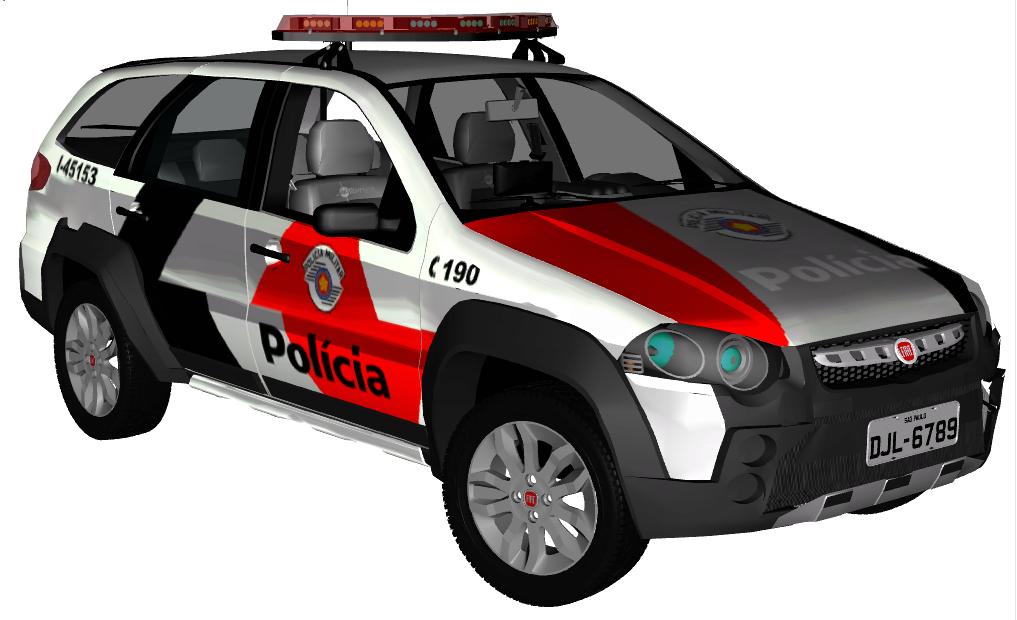 Equipe Tatica 3d Mods Policiais Em Geral Fiat P Lio