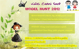 Kirei Chan Shop Model Hunt 2012 dunialombaku.blogspot.com