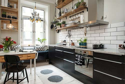 Awesome Cucina Ad Angolo Con Finestra Gallery - Ridgewayng.com ...