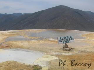 paysages mexique Oaxaca Hierve el Agua casacade pétrifiée