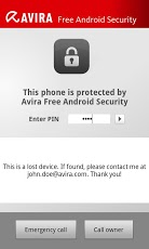 Avira Free Android Security 1.2 Android