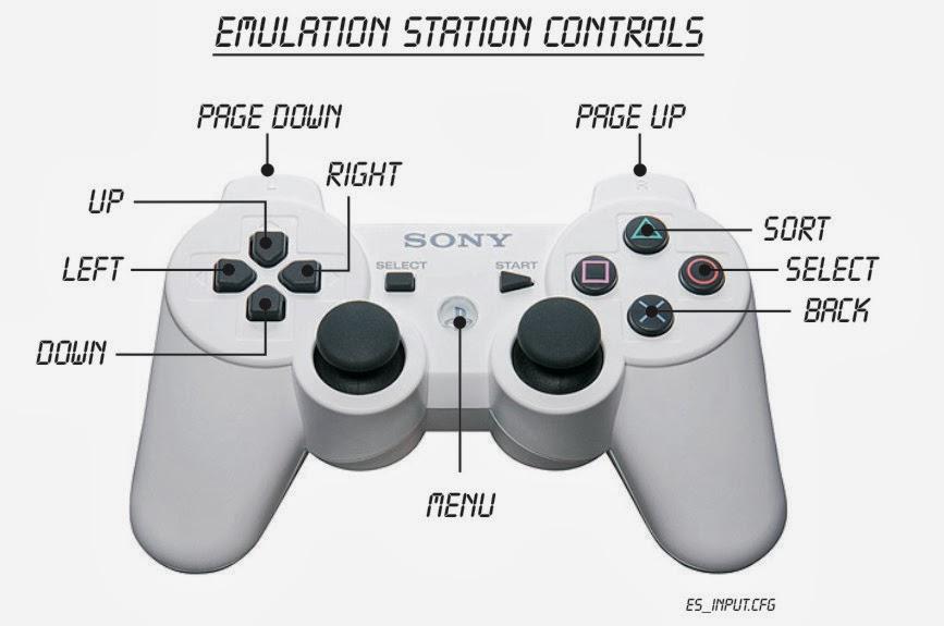 Retropie controller setup