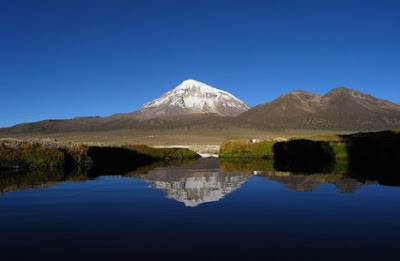 Mountain Nevado Sajama Bolivia Tourism