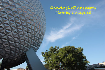 WDW Epcot Spaceship Earth Growing Up Disney