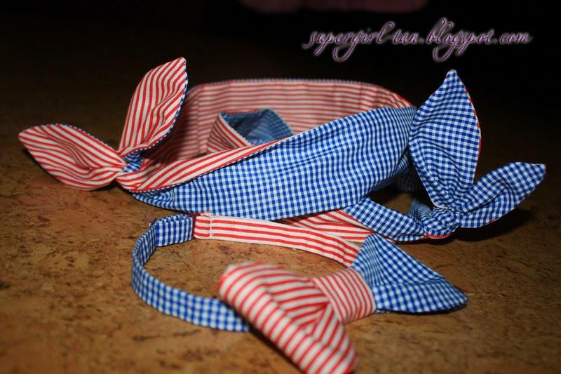 комплект солоха и бабочка-галстук