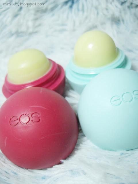 EOS Smooth Sphere Lip Balm Sweet Mint & Pomegranate Rasperry