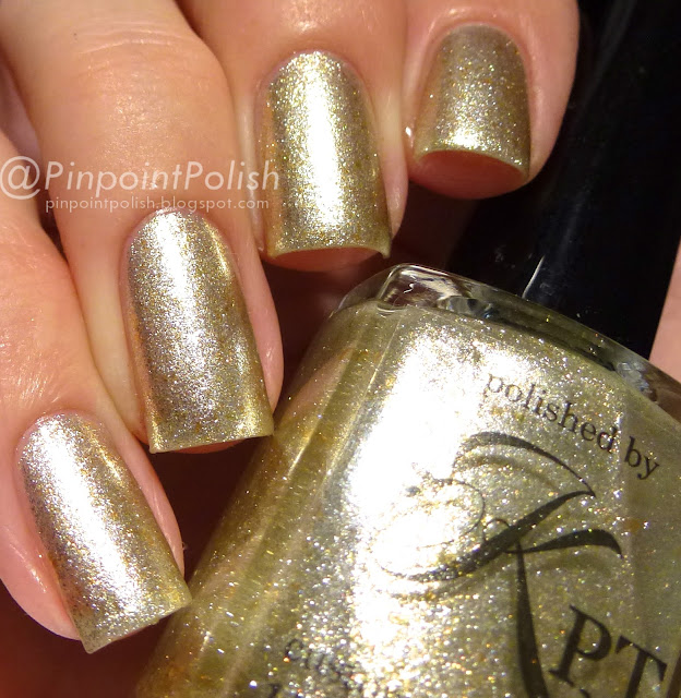 Liquid Gold, Polish By KPT, swatch