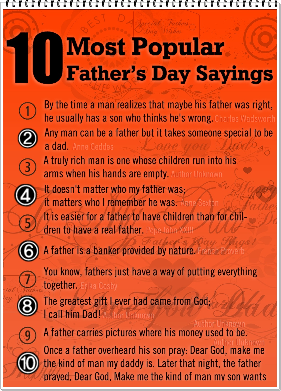 Fathers Day Quotes And Captions For Instagram Cute Instagram Quotes