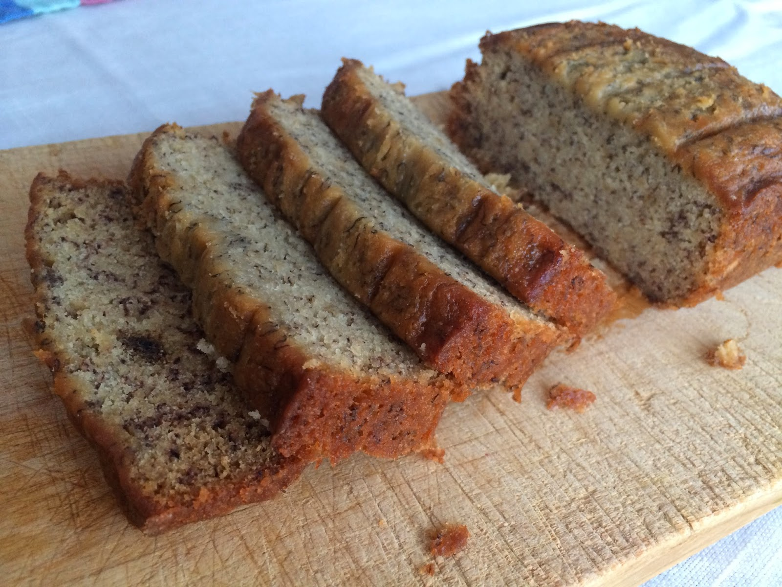 Melt in Your Mouth Banana Bread