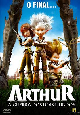 Arthur: A Guerra dos Dois Mundos - BDRip Dual Áudio