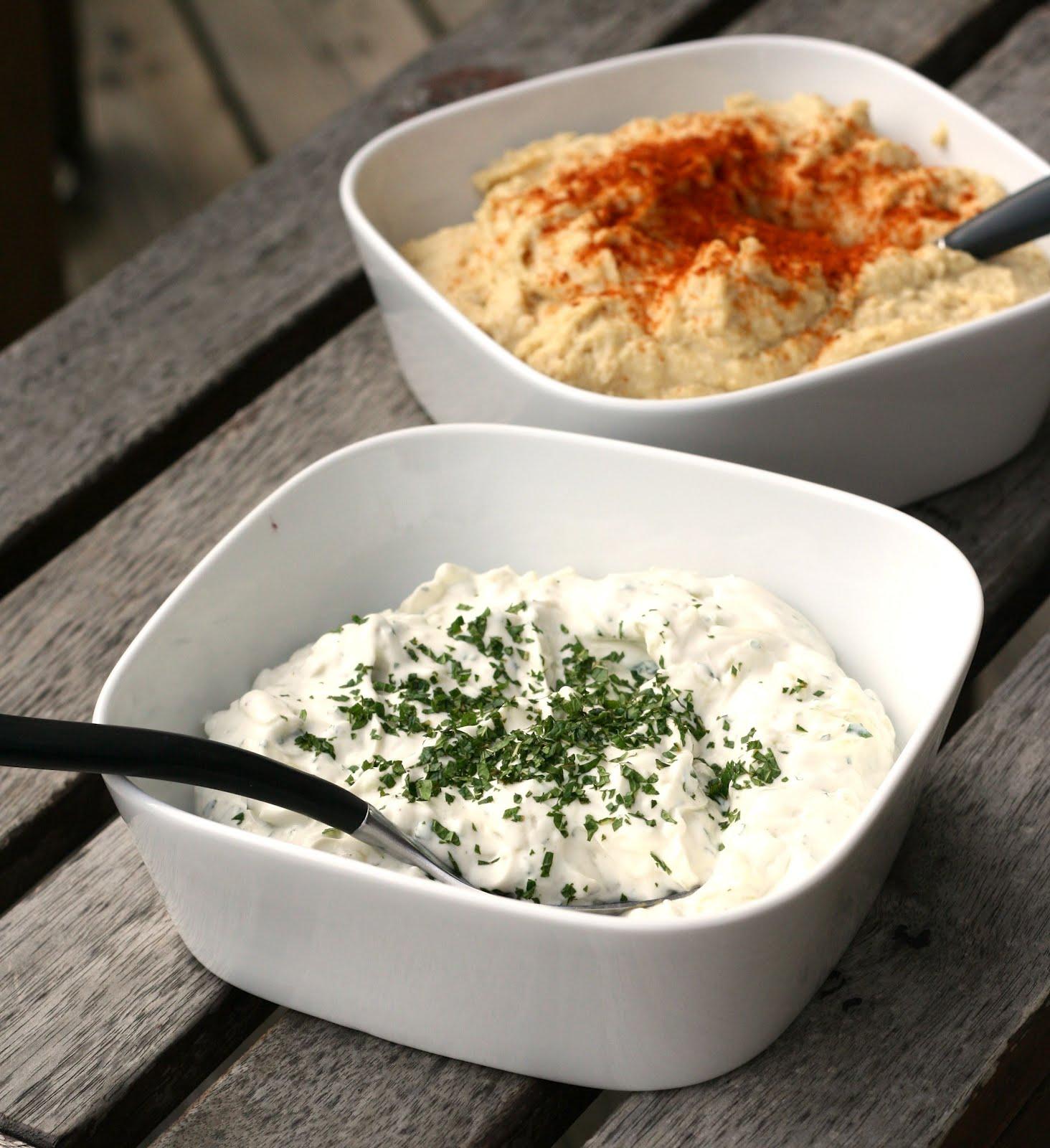 kall sås till kyckling turkisk yoghurt
