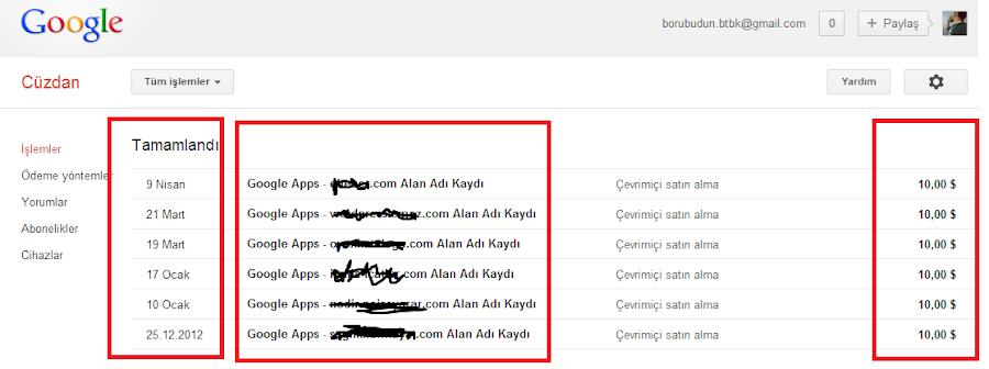 2013 Blogger Domain Yenileme ve Yaşanacak Olası Sıkıntılar