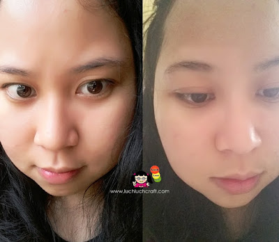 review masker nature leaves before after