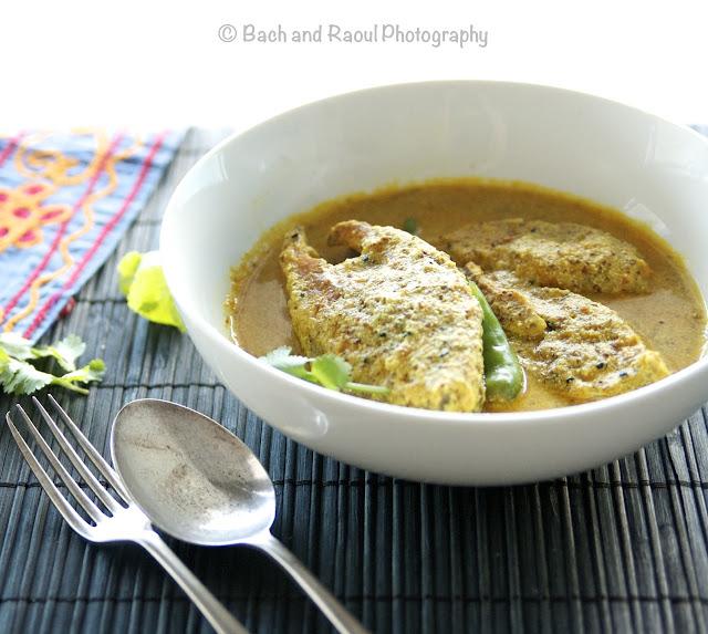 Bengali Shorshe Bata Maach - Mustard Fish