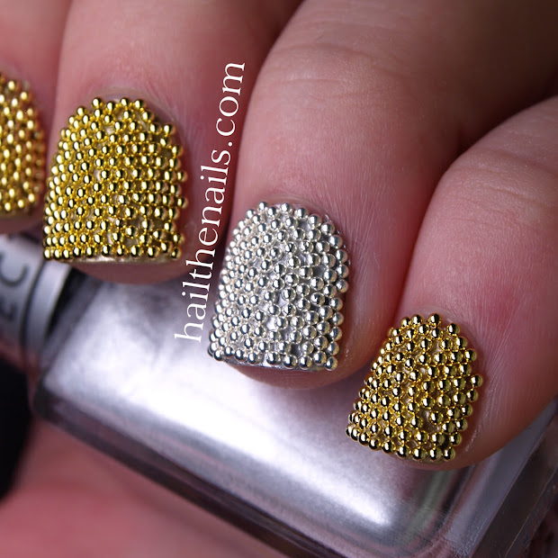 cost-effective caviar nails