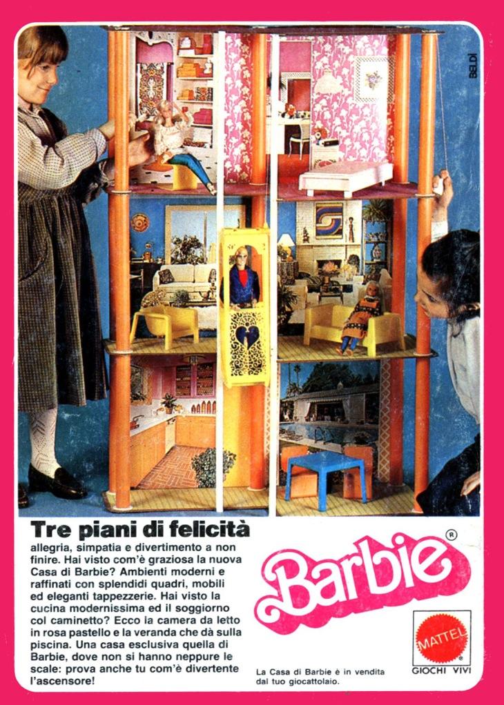 Te lo ricordi mica le case di barbie for Concetto di piani per la casa