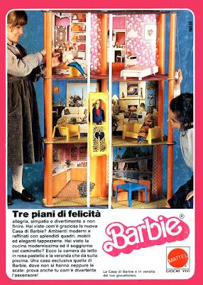 Te lo ricordi mica le case di barbie for 5 piani di casa di tronchi di camera da letto