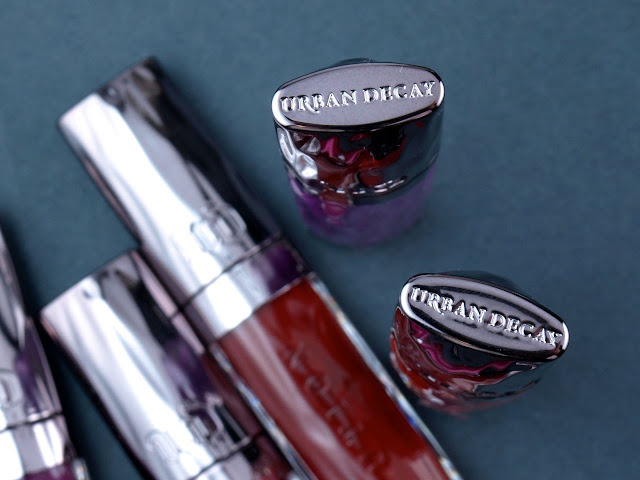 Urban Decay Revolution High-Color Lipgloss: Review and Swatches