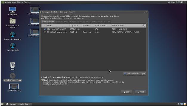 Memilik Spesifik Letak Driver Linux