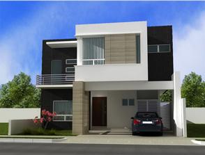 Fachadas contempor neas hermosas fachadas contempor neas for Render casa minimalista
