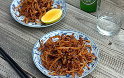 Fried Squid with Butter and Garlic