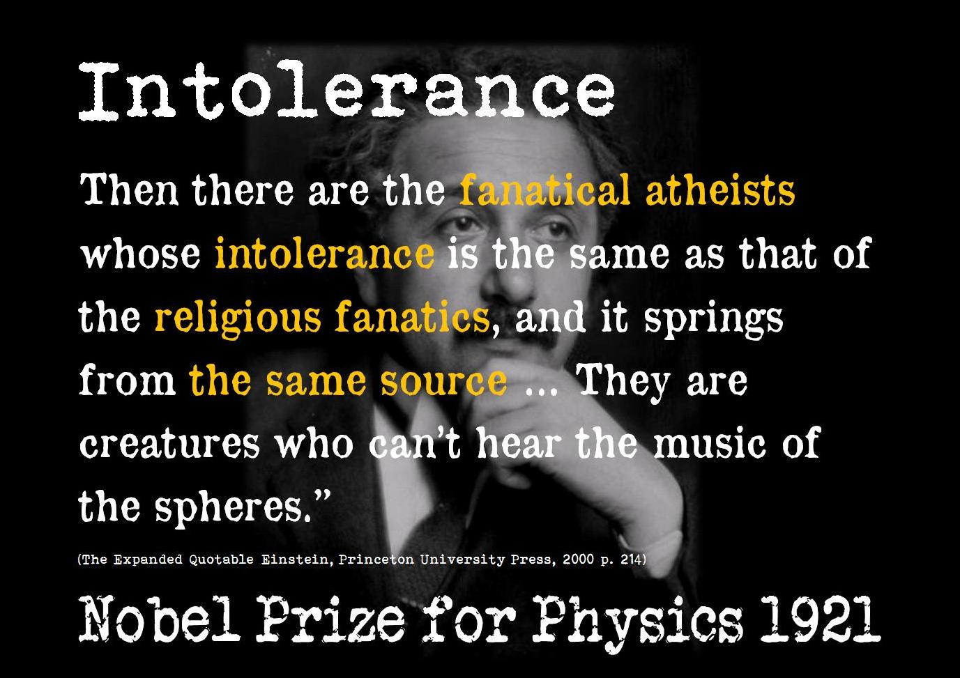 Intolerance Quotes By ...