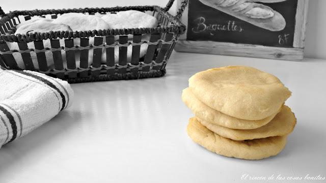 mini pan de pita