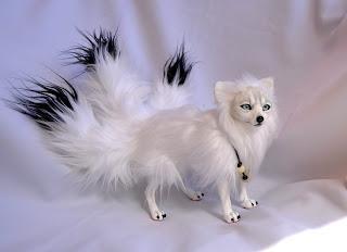 Figuras realistas japanese kitsune
