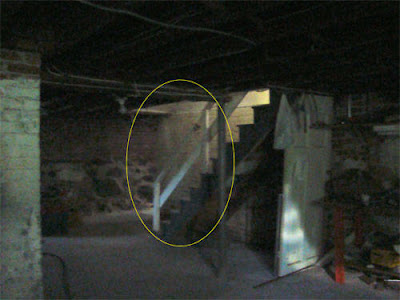 Real Ghost Photo: Basement Apparition