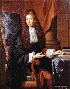 Robert Boyle (Waterford, 25 de enero de 1627 - Londres, 30 de diciembre de 1691)