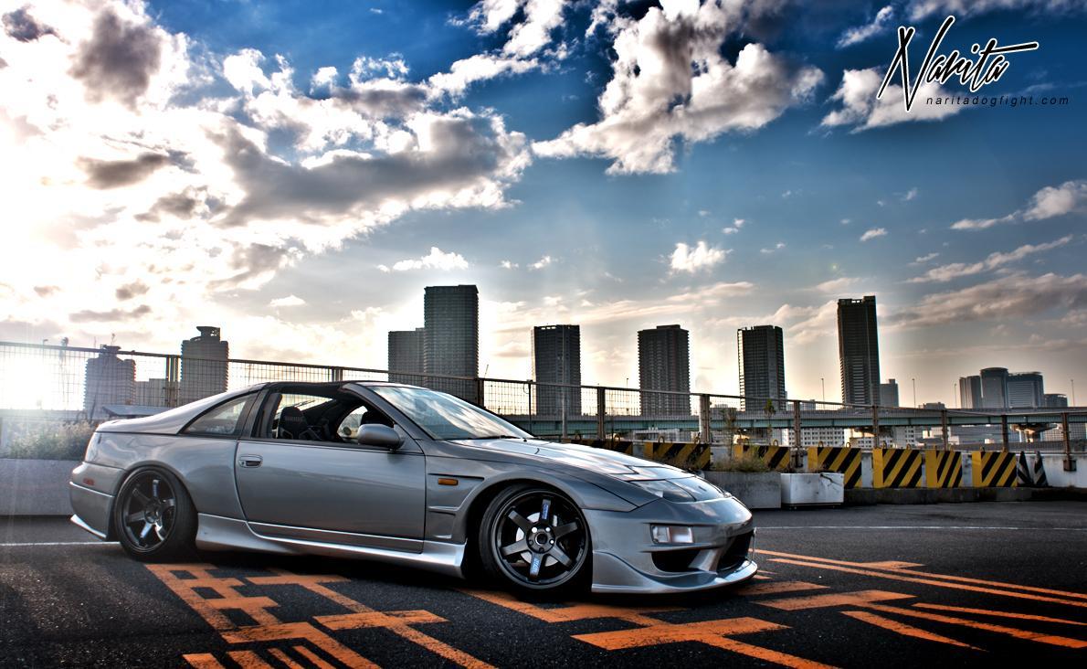 Nissan Fairlady Z Z32 (300ZX), tuning, Japonia, JDM, kultowe auto, piękny design, rasowy sportowy samochód, V6 twin turbo, RWD, zetka