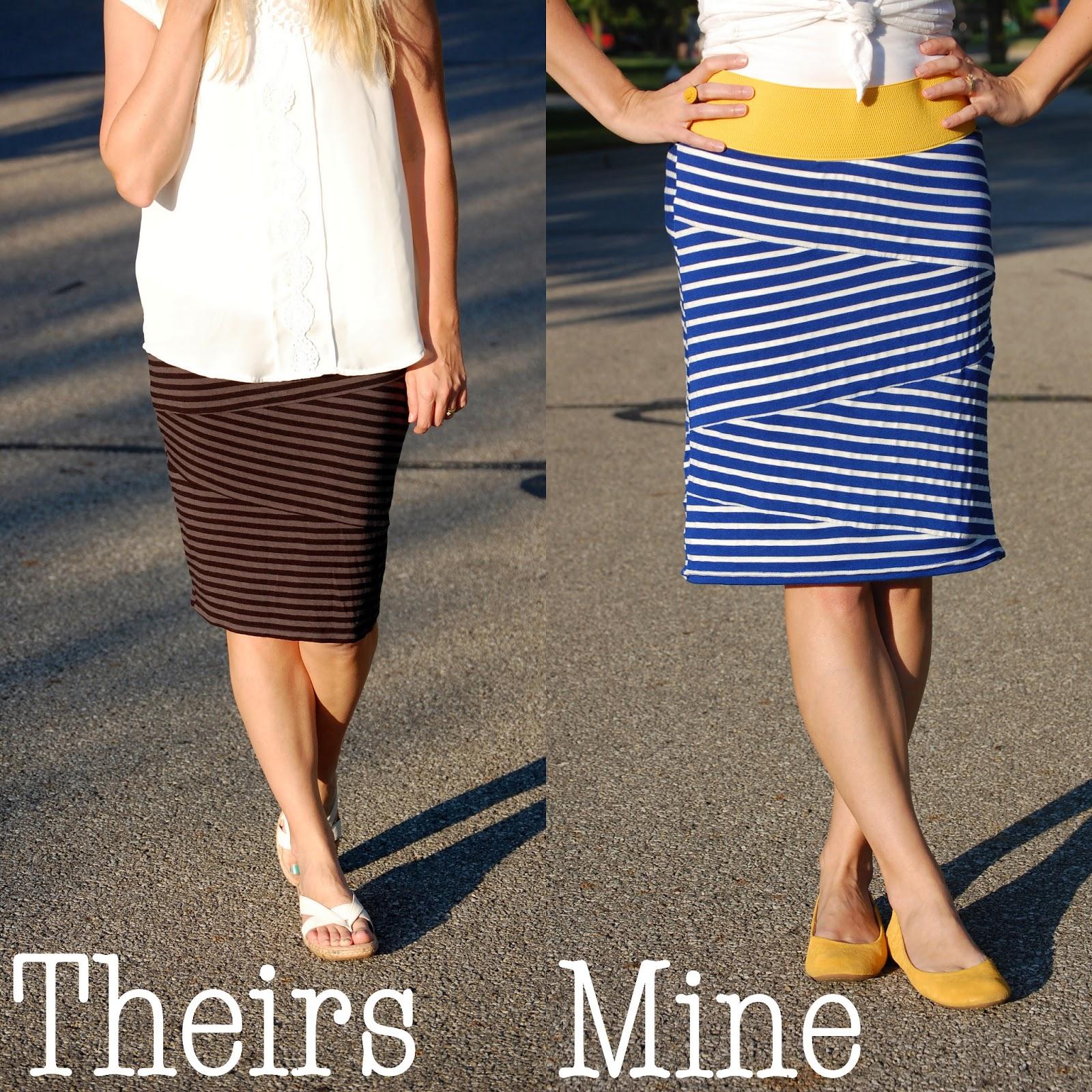 Сшить юбку карандаш из трикотажа