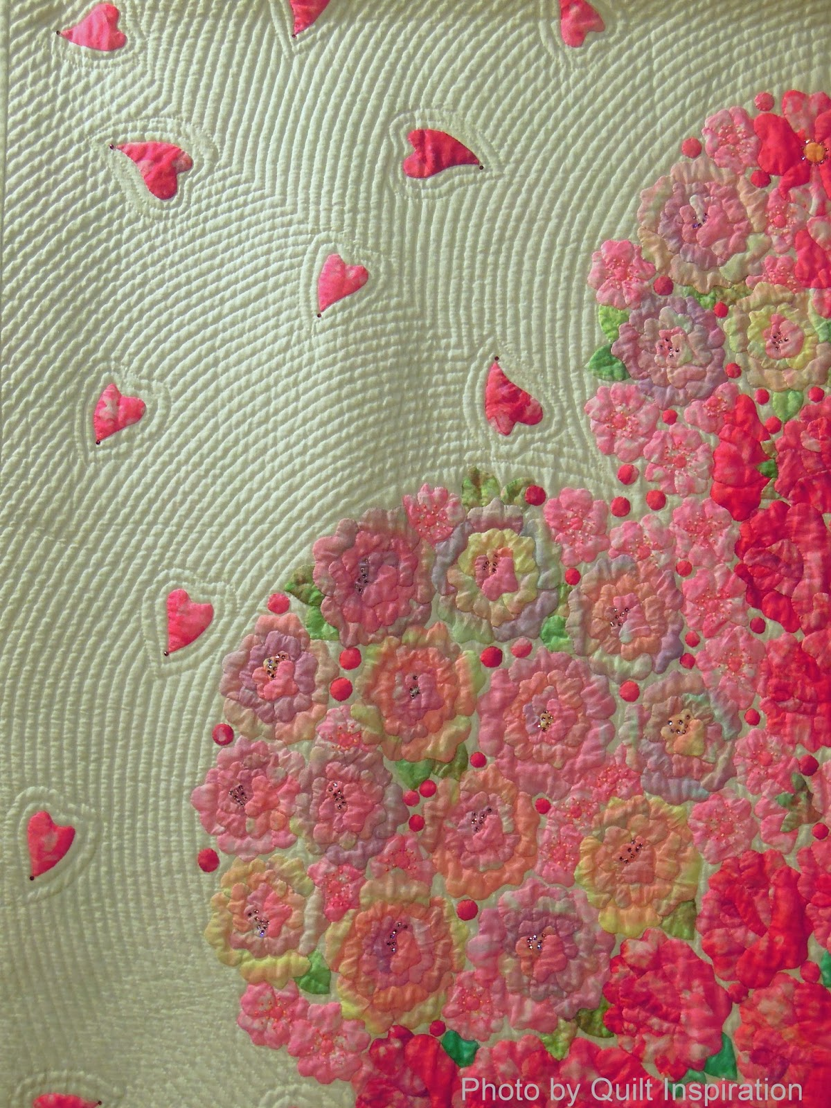 Hand Quilting Heart Patterns : Quilt Inspiration: Happy Valentine s Day