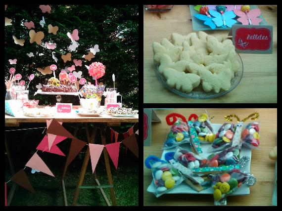 Decoración_jardin_mariposas_banderines_mesa_dulces