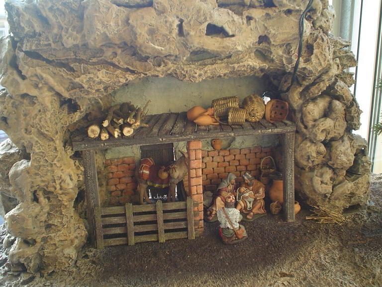 El rinc n de las manualidades de siry casa en monta a - Casitas de nacimientos de navidad ...