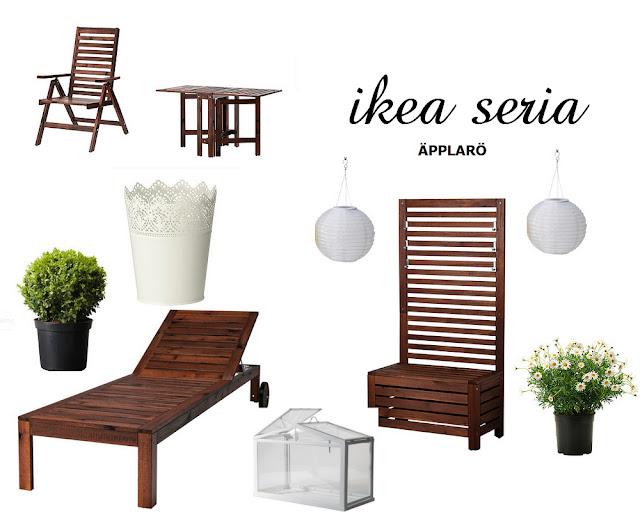 Meble Ogrodowe Ikea Applaro Opinie :  mnie tez kolekcja APPLARO z IKEI Meble są praktyczne bo składane