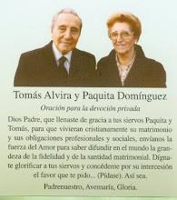 TOMAS ALVIRA Y PAQUITA DOMINGUEZ
