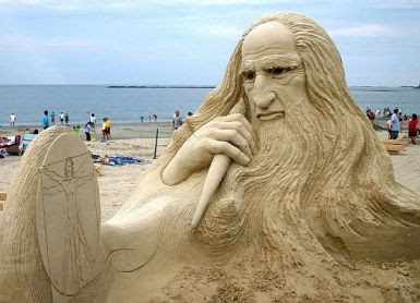Sand Art Sculpture
