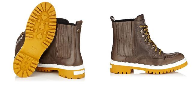 botas marrones para hombre de jimmy choo