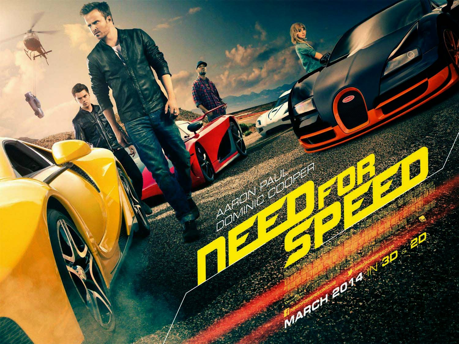 Need for Speed (Trailer)