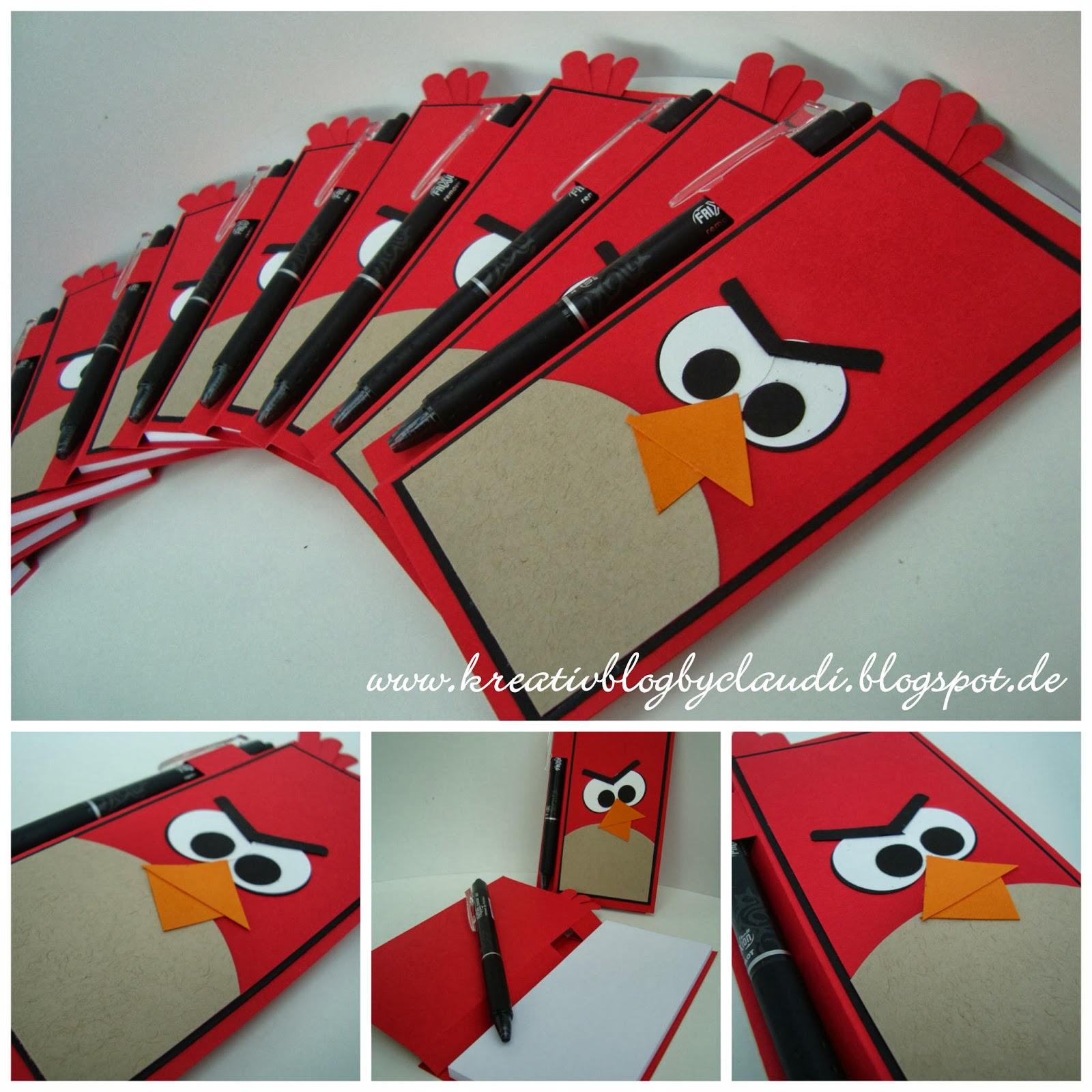 Kreativ Blog By Claudi Angry Birds Kellnerblocke