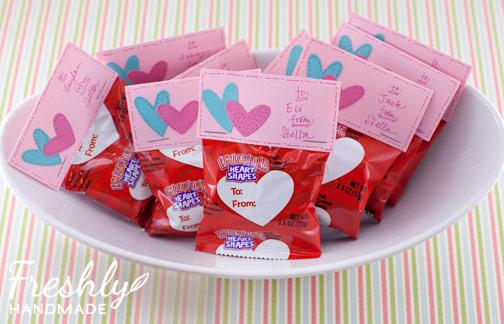 freshly handmade: personalized valentine's day treats, Ideas