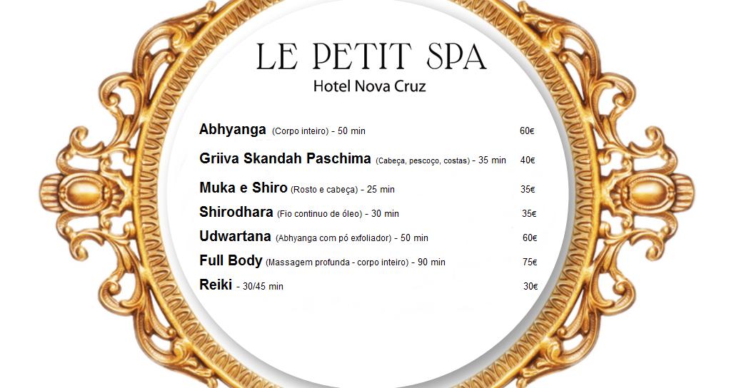 Nova cruz hotel le petit spa for Le petit salon villereal