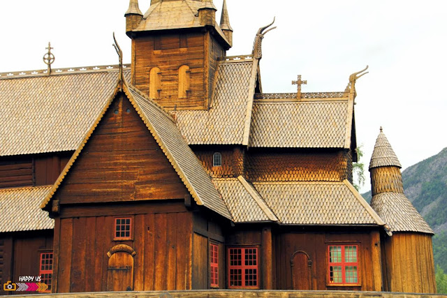 Stavkirke de Lom - Norvège