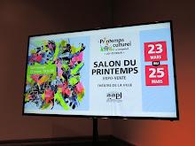 Salon du printemps 2018: publicité par la ville de Longueuil.