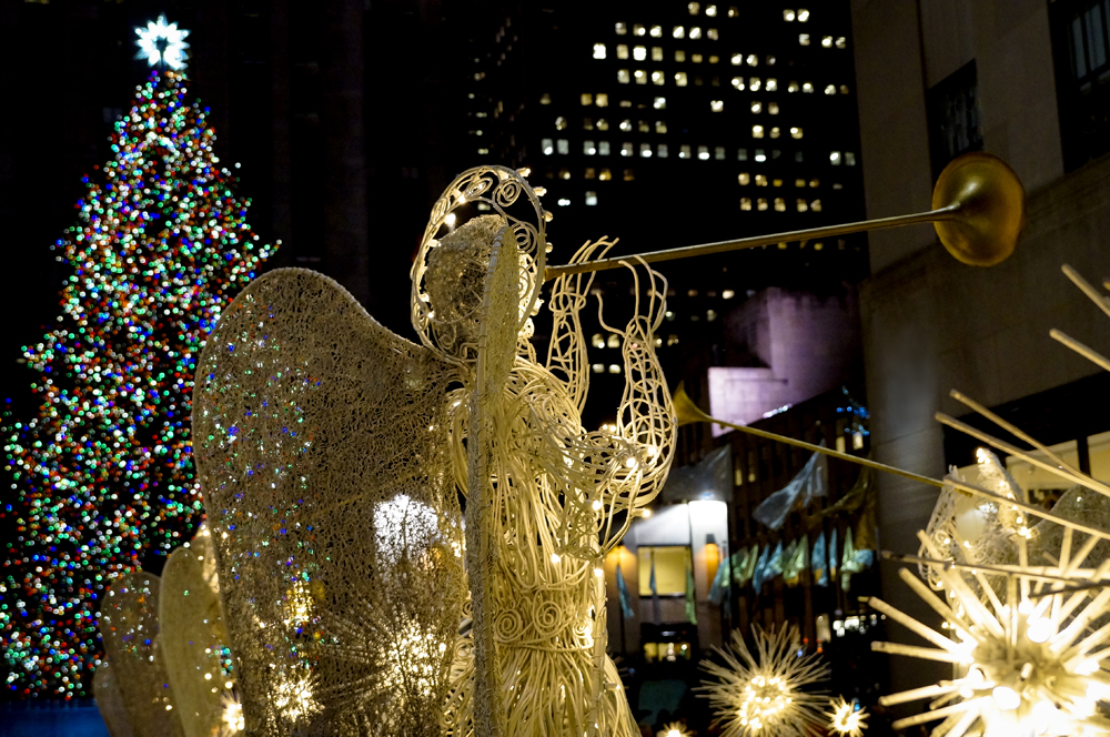 Merry Christmas from the Rockefeller Center in New York City